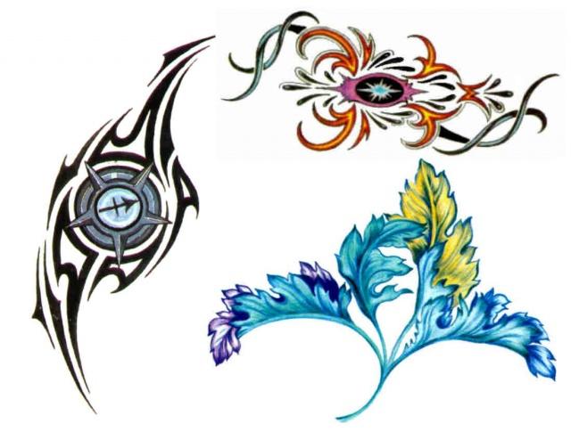 татуировки трайбл (16)