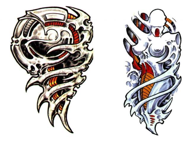 татуировки эскизы демонов (2)