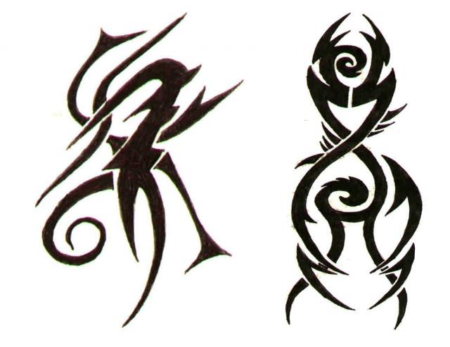 татуировки трайбл (13)