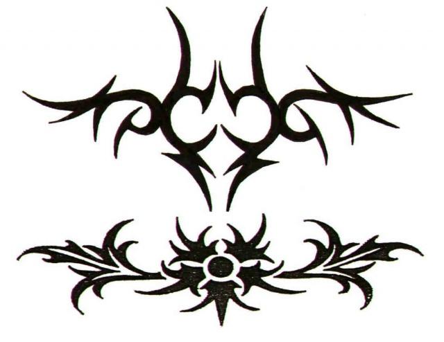 татуировки трайбл (12)