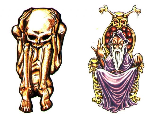 татуировки эскизы демонов
