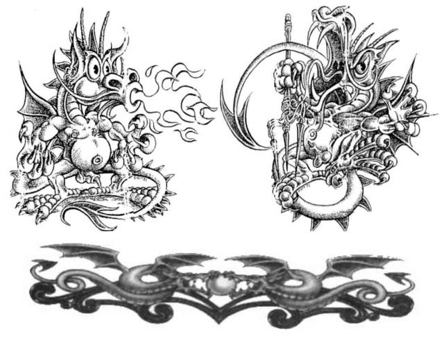 Эскизы татуировок трайбл