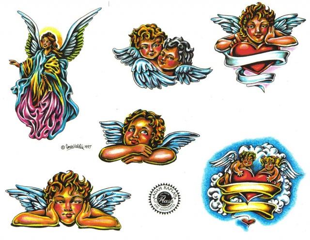 эскизы татуировок цветные (10)