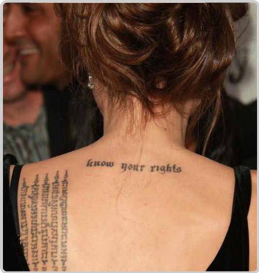 татуировки Анджелины Джоли (19)