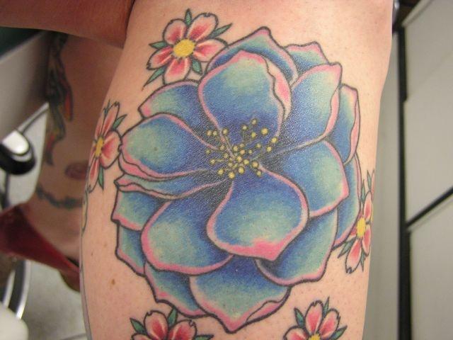 татуировки на ноге (17)