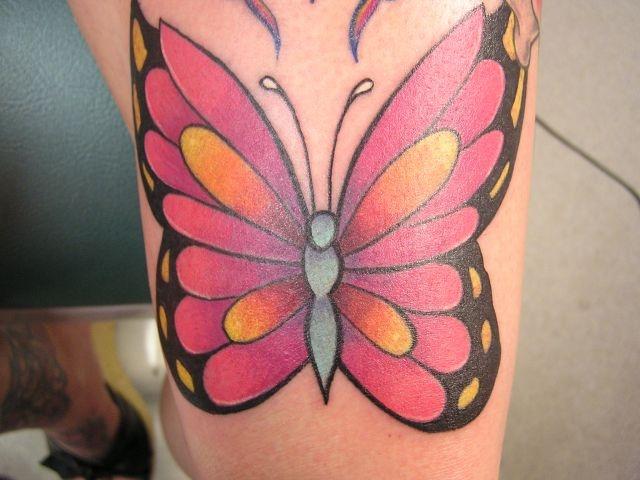 татуировки на ноге (18)