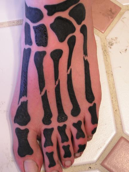 татуировки на ноге (16)