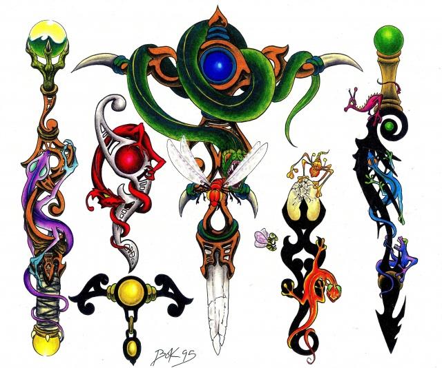 эскизы татуировок (10)