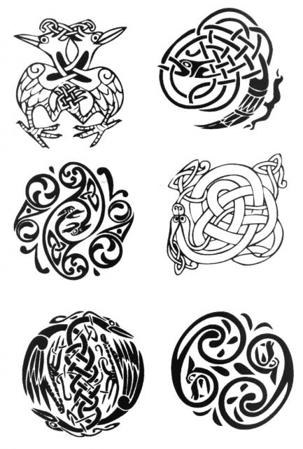 кельтские татуировки (12)