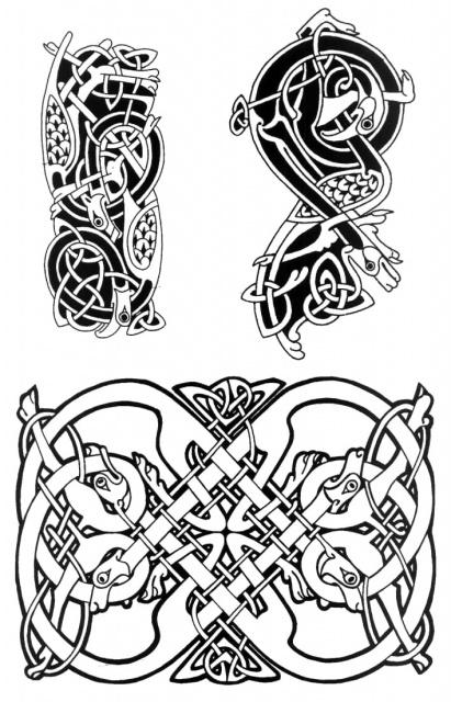 кельтские татуировки (11)