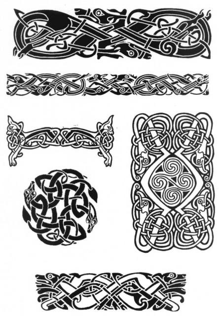 кельтские татуировки (9)
