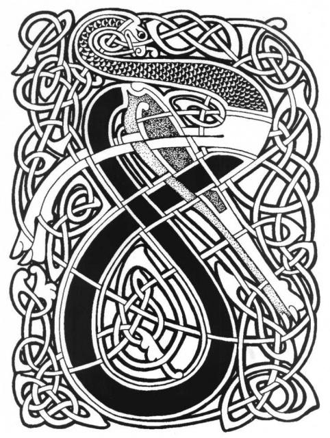 кельтские татуировки (6)