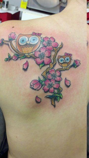 татуировки на спине (18)