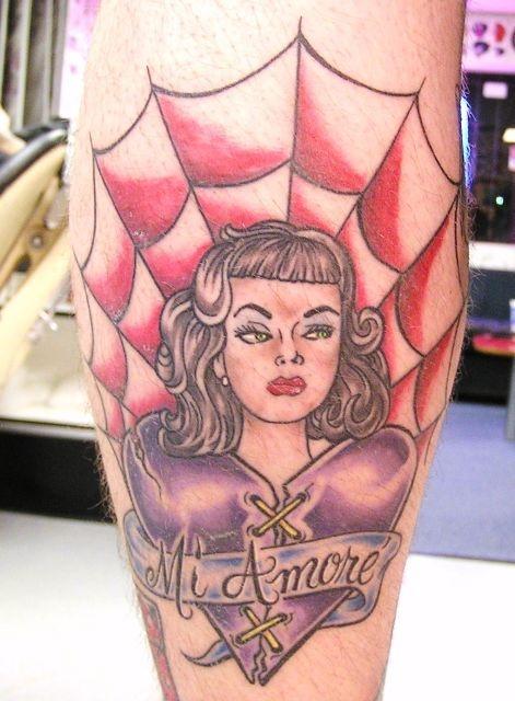 татуировки на ноге (12)