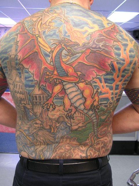 татуировки на спине (15)