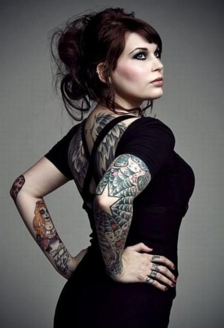 татуировки для девушек (9)