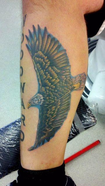 татуировки на ноге (10)