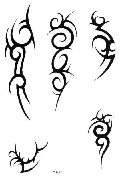 татуировки трайбл (18)