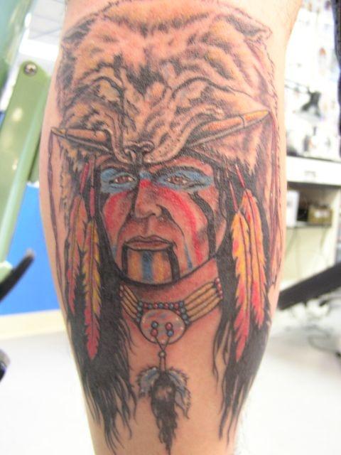 татуировки на ноге (6)