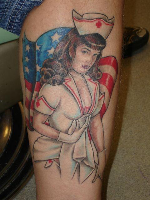 татуировки на ноге (1)