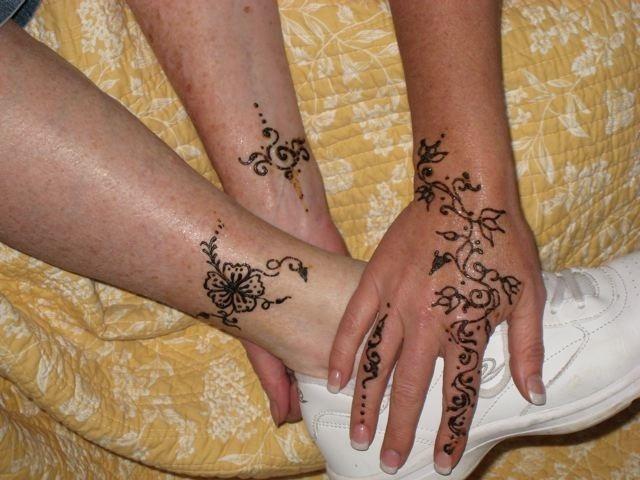 Татуировки хной фотографии и эскизы