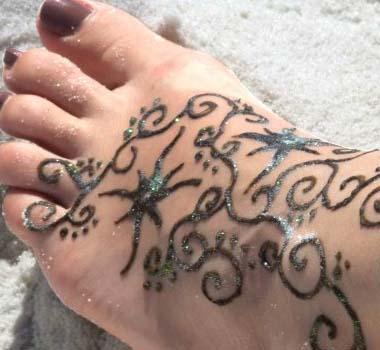Татуировки хной очередные