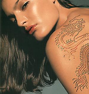 татуировки хной на плече