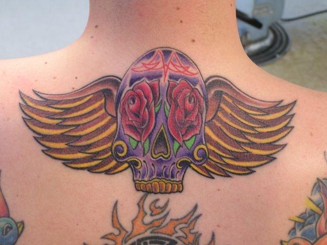 татуировки на спине (13)