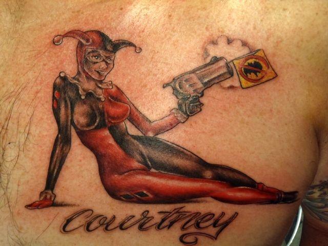 татуировки на спине (11)