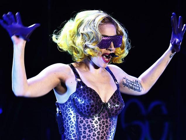 татуировки звезд Леди Гага