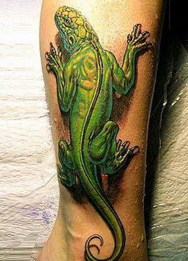 Татуировки на ногах (19)