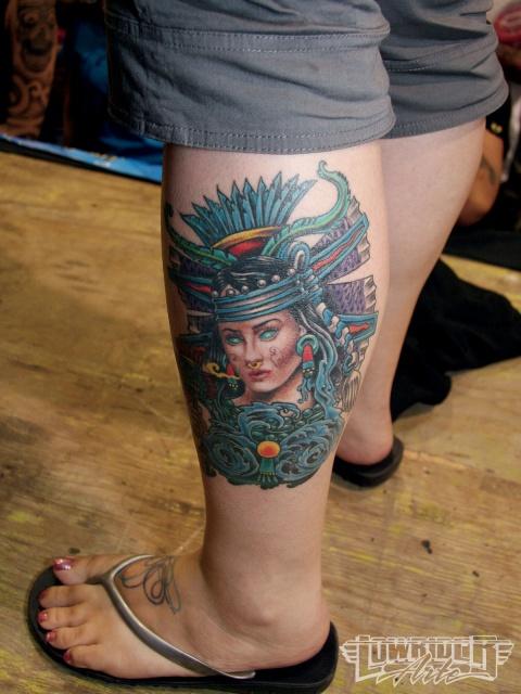 Татуировки на ногах (15)