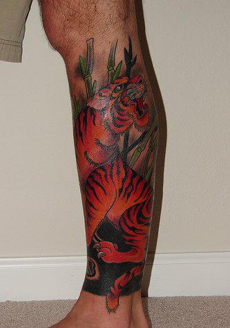Татуировки на ногах (3)