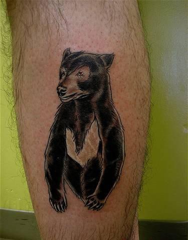 Татуировки на ногах (18)