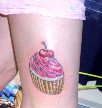 татуировки на ногах (8)