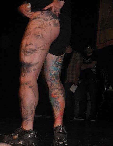 татуировки на ногах (7)
