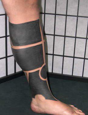 татуировки на ногах (6)