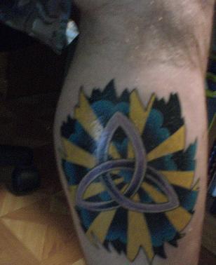 татуировки на ногах (5)