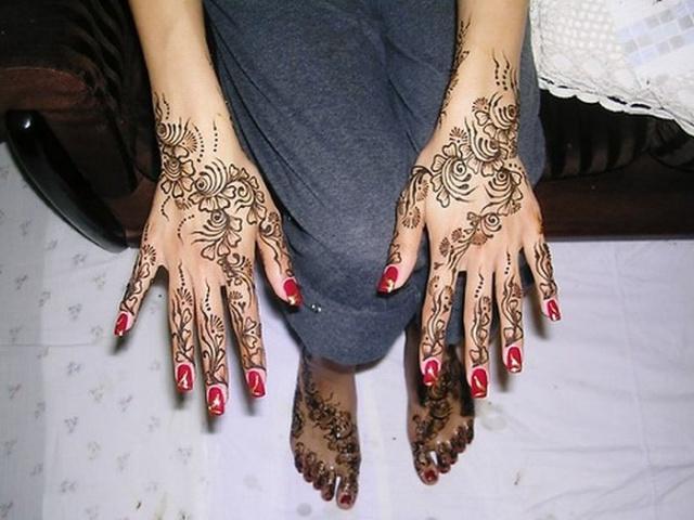 временные татуировки на руках (28)