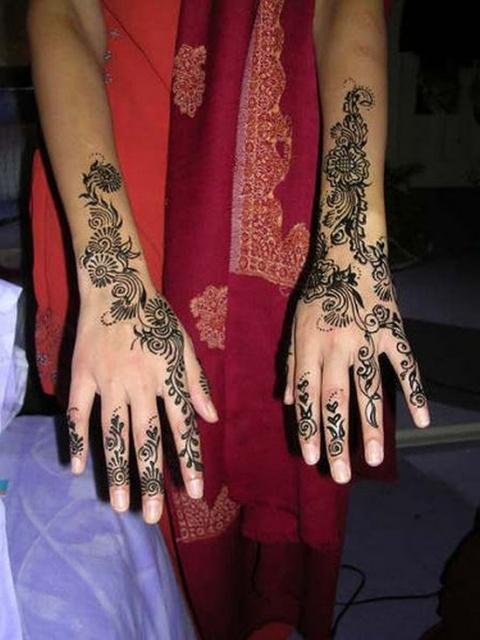 временные татуировки на руках (21)