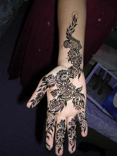 временные татуировки на руках (18)
