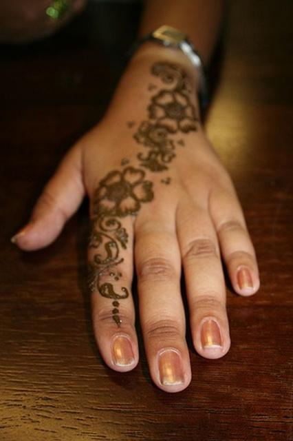 временные татуировки на руках (11)