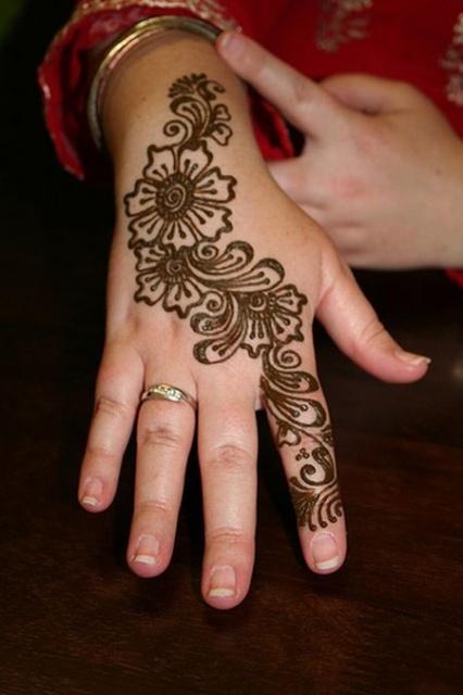 временные татуировки на руках (10)
