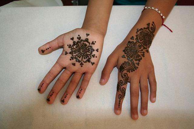 временные татуировки на руках (9)