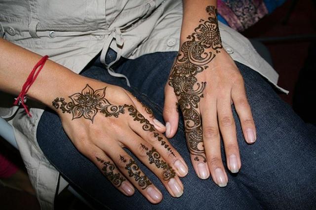 временные татуировки на руках (7)