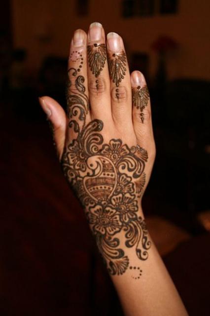 татуировки хной (4)