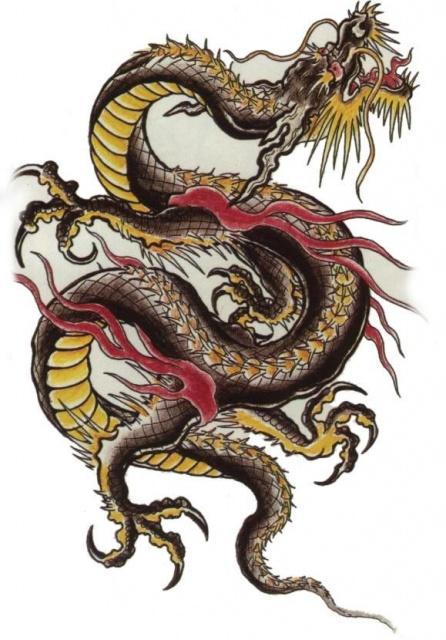 татуировки эскизы демонов (8)