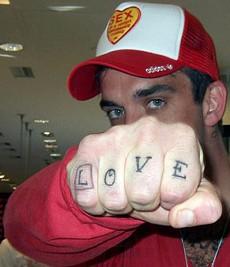 татуировки Робби Уильямса (34)