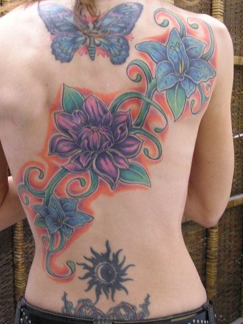 татуировки на спине (6)