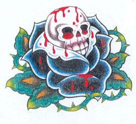 татуировки эскизы демонов (6)